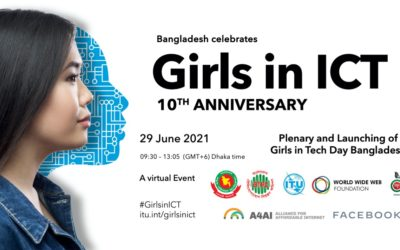 The Plenary And Launching of Girls in ICT Day Bangladesh