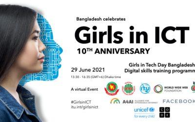 The Digital Skills Training Program Girls in Tech Day Bangladesh