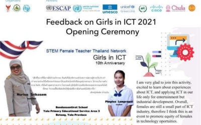 Reflections on Girls in ICT Day 2021 Opening Ceremony